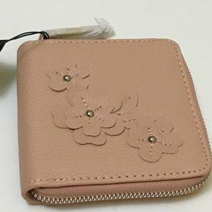 NWT Minicci Flower Wallet